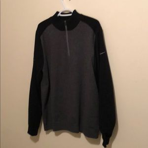 Nike golf tour performance 1/4 zip pullover L